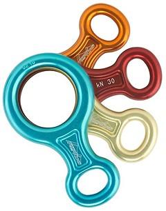 AustriAlpin - Abseilachter Standard 30kn, assorted colours