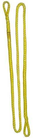 AustriAlpin - Nahtfreies Dyneema Standschlingen-Set 6mm, 120cm, gelb