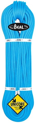 Beal - Einfach-/Halb-/Zwillingseil 8,5mm Opera Unicore, Dry Cover, blau, 60m