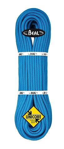 Beal - Einfach-/Halb-/Zwillingseil 9,1mm Joker Soft Unicore, Dry Cover, blau, 70m
