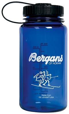 Bergans - Weithalsflasche, Lexan Bottle 0,5 L, wide cap, blue