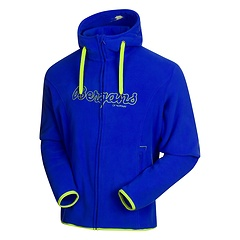 Bergans - Bryggen Fleece Jacket, cobalt blue/neon green, Gr. L