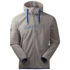 Bergans - Bryggen Fleece Jacket, solid light grey/blue, Gr. S