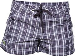 Bergans - Hvaler Lady Shorts, blackberry/light lilac checked, Gr. S
