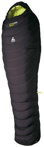 Camp - Daunenschlafsack ED 300, black, left zip