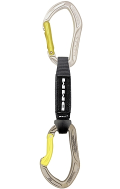 DMM - Expressschlinge Alpha Sport QD Set, 12cm, lime