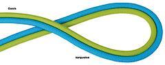 Edelrid - Aramid Cord Reepschnur Rap Line 6mm, 20kn, oasis, Meterpreis