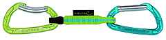 Edelrid - Express-Set Pure Slim 10cm, oasis/icemint