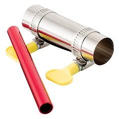 MSR - Zeltstangen-Reparaturkit Pole Repair Kit, silver/red