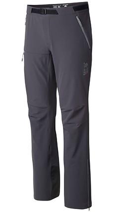 Mountain Hardwear - Chockstone Alpine Softshell Pants, regular, shark, Gr. L