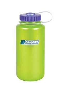Nalgene - Weithalsflasche Everyday, Loop-Top, 1L, translucent lime