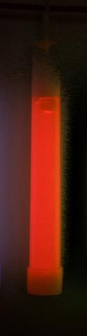 OmniGlow - Leuchtstab Standard, 15cm, rot, 1 Stück