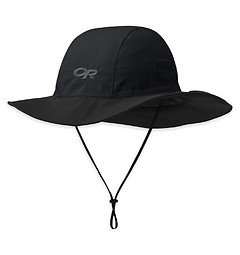 Outdoor Research - Regenhut Seattle Sombrero, black, Gr. XL