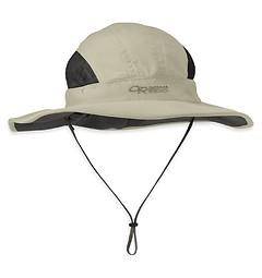 Outdoor Research - Regenhut Sunshower Sombrero, cairn/khaki, Gr. S