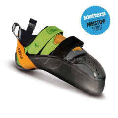 Triop - Kletterschuh Genus VCR, green/orange, Gr. 41,0