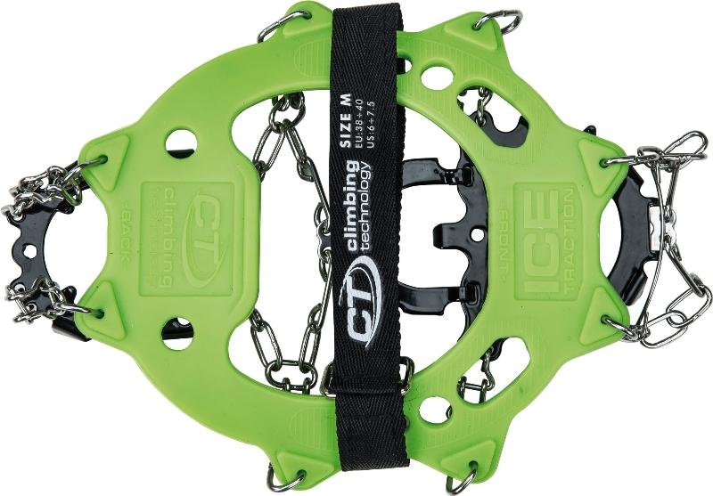 Climbing Technology Klettergurt : Climbing technology steigeisen ice traction plus crampons green