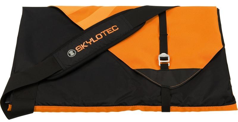 Skylotec Klettergurt : Skylotec seilsack fancy ropebag orange black