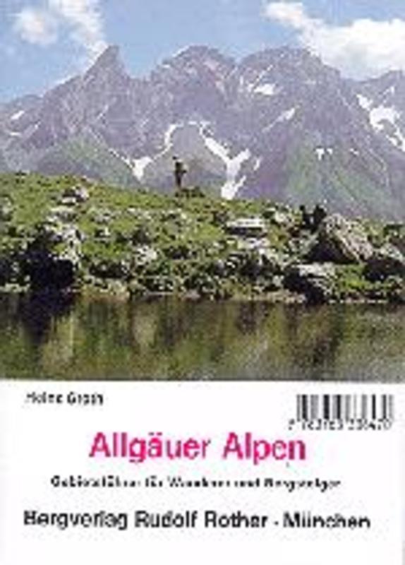 Bergverlag Rother GF Allgäuer Alpen Gebietsführer