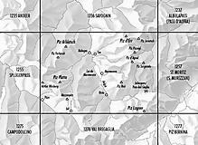 Swisstopo - Landeskarte Schweiz - 1256 Bivio, 1:25000