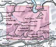 DAV Karte - 14 Dachstein mit Skitouren, 1:25000