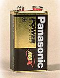 Panasonic - Batterie Alkaline Power Max 3 9V Block