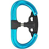 AustriAlpin - Autolock Karabiner Fifty-Fifty, blau eloxiert