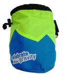 AustriAlpin - Chalkbag Celebrate Gravity, azurblau/grün