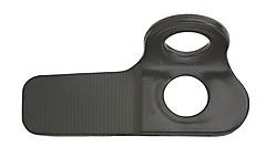 AustriAlpin - Felshaken Messerhaken, 20 mm, 1,4 mm, schwarz