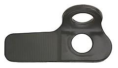 AustriAlpin - Felshaken Messerhaken, 20 mm, 2,0 mm, schwarz