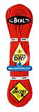 Beal - Halb-/Zwillingseil 7,3mm Gully Unicore, Golden Dry, orange, 60m