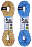 Beal - Halbseil 8,1mm Iceline Unicore, Golden Dry, anis/emerald, 2 x 60m