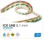 Beal - Halbseil 8,1mm Iceline Unicore, Golden Dry, anis/orange, 2 x 50m