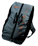 Beal - Seil-Rucksack Combi, black/orange