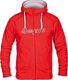 Bergans - Bryggen II Jacket, red/aluminium/solid dark grey, Gr. S
