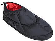 Bergans - Daunenslipper Down Slipper, black/red, Gr. S = 35-37