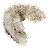 Bergans - Fur Attachment, Pelzbesatz, light color, Gr. S / 37cm