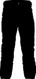 Bergans - Skifjell Softshell Pant Short -5cm Beinlänge, black, Gr. XL