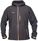 Bergans - Kjerag Softshell Jacket, charcoal/mustard, Gr. S