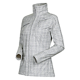 Bergans - Mandal Lady Jacket, aluminium/solid dark grey checked, Gr. M