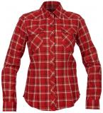 Bergans - Tovdal Lady Shirt, red checked, Gr. XL