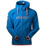 Bergans - Bryggen Fleece Jacket, light sea blue/neon orange, Gr. S