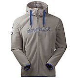 Bergans - Bryggen Fleece Jacket, solid light grey/blue, Gr. S