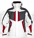 Bergans - Filefjell Jacket, white/grey/red, Gr. L
