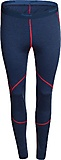 Bergans - Krekling Merino Lady Tights, navy melange/red, Gr. XS