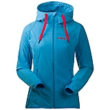 Bergans - Fleecejacke Sandoya Lady Jacket, bright sea blue/hot red, Gr. XS