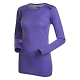Bergans - Soleie Merino Lady Shirt, light primula/purple, Gr. XS