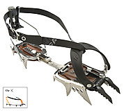 Black Diamond - Steigeisen Cyborg Clip Crampons ABS, stainless steel