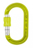 DMM - Materialkarabiner XSRE Lock Mini Carabiner, 4kN, lime