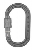DMM - Materialkarabiner XSRE Lock Mini Carabiner, 4kN, matt grey
