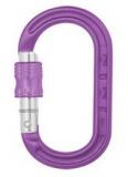 DMM - Materialkarabiner XSRE Lock Mini Carabiner, 4kN, purple